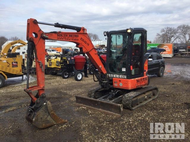 2018 Kubota U35-4 Mini Excavator, Mini Excavator (1 - 4.9 Tons)