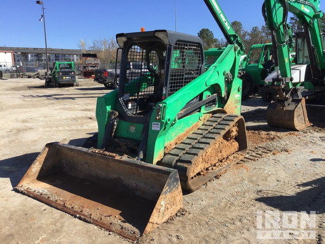 2014 (unverified) Bobcat T750 Compact Track Loader, Compact Track Loader