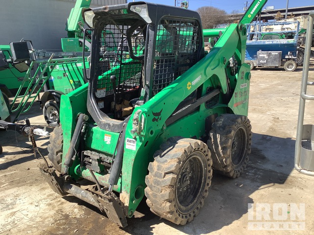 2015 Bobcat S650 Two-Speed Skid Steer Loader, Skid Steer Loader