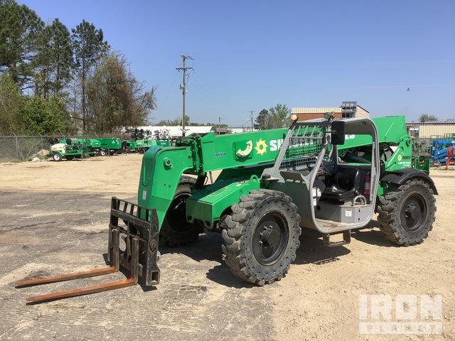 2014 Genie GTH-844 4x4 8,000 lb Telehandler, Telescopic Forklift