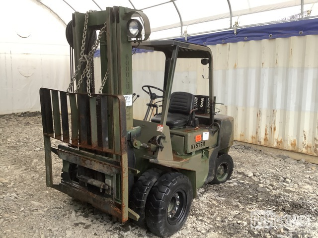 Hyster H60XLM Pneumatic Tire Forklift, Forklift