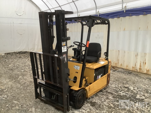 Cat EP20KT Electric Forklift, Electric Forklift
