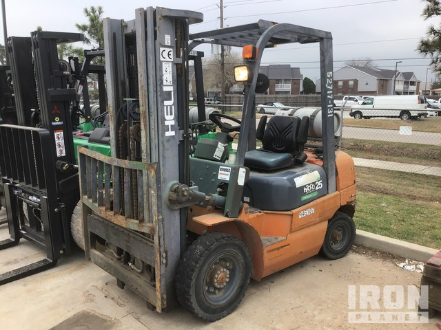 2012 (unverified) Heli CPY025-TY5 Pneumatic Tire Forklift, Forklift