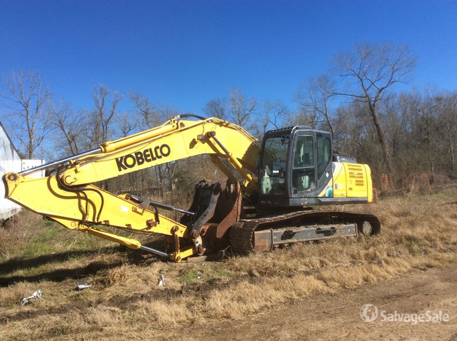 2017 (unverified) Kobelco SK210LC-10 Track Excavator, Parts/Stationary Construction-Other