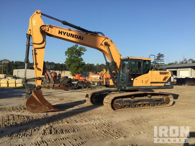 Hyundai HX260L Track Excavator, Hydraulic Excavator