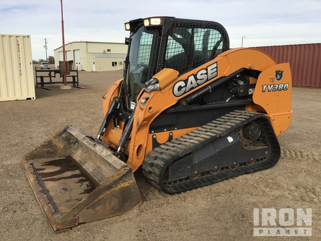 2015 Case TV380 Two-Speed High-Flow Compact Track Loader, Compact Track Loader