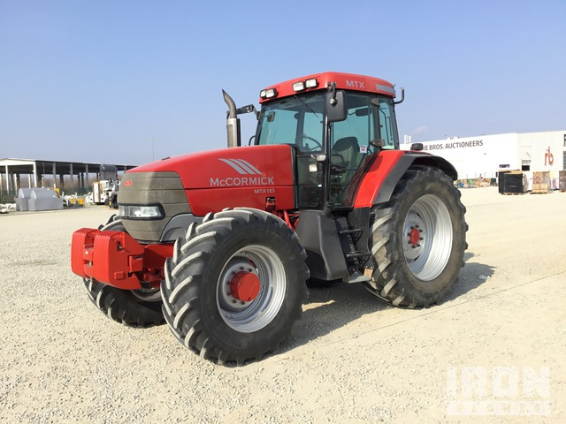 2005 McCormick MXT 185 4WD Tractor, MFWD Tractor
