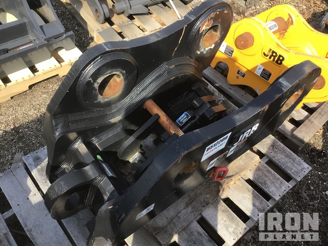 2017 JRB 90A3595 Excavator Hydraulic Coupler - Fits Hyundai HX480, Excavator Attachment - Other