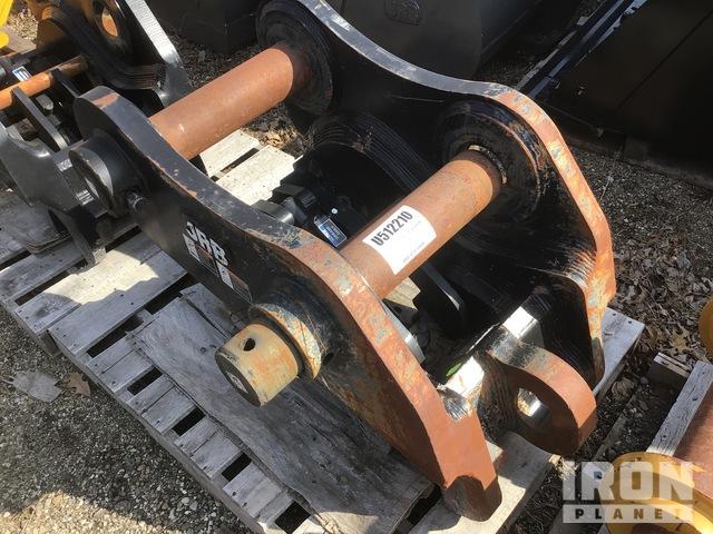 2017 JRB Smart-Loc Excavator Hydraulic Coupler - Fits Hyundai HX480, Excavator Attachment - Other