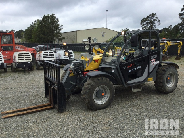 2019 (unverified) Wacker Neuson TH627 Telehandler, Telescopic Forklift