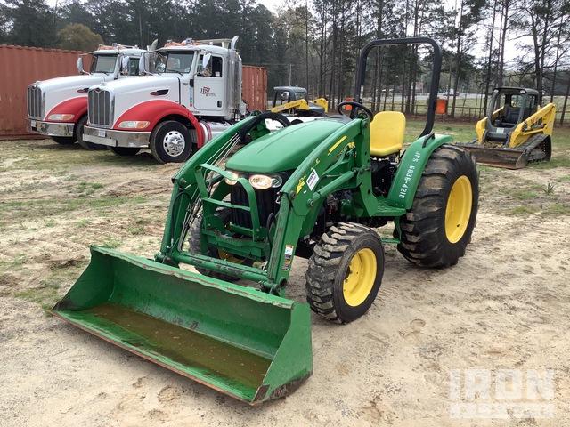 2016 John Deere 4105H 4WD Tractor, MFWD Tractor