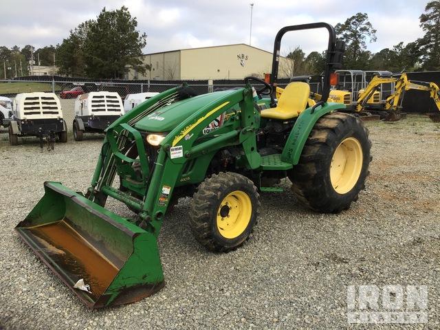 2014 John Deere 4105 4WD Tractor, MFWD Tractor