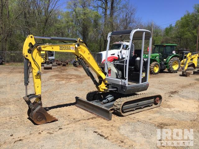 2018 (unverified) Wacker Neuson EZ28 Mini Excavator, Mini Excavator (1 - 4.9 Tons)