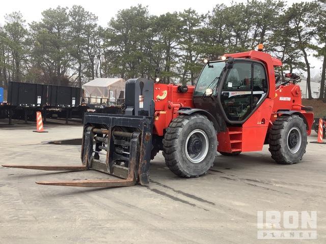 2014 Manitou MHT10180 3B6 4x4 33000 kg Telehandler, Telescopic Forklift