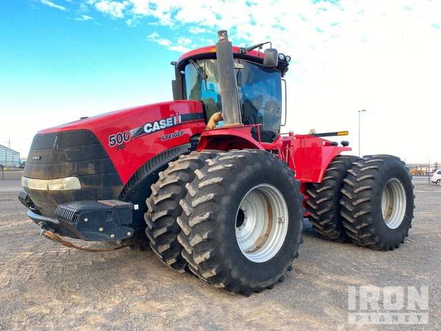 2015 Case IH Steiger 500HD Articulated Tractor, 4WD Tractor