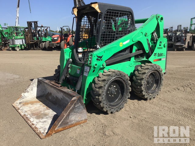 2016 Bobcat S650 Skid Steer Loader, Skid Steer Loader