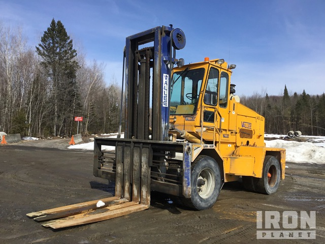 1991 Vallee 4DA32TSS Forklift, Container Handler