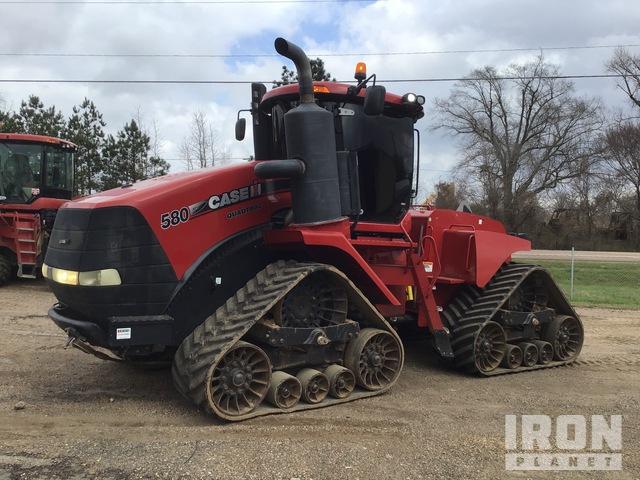 2015 Case IH Quadtrac 580S Scraper Tractor, 4WD Tractor