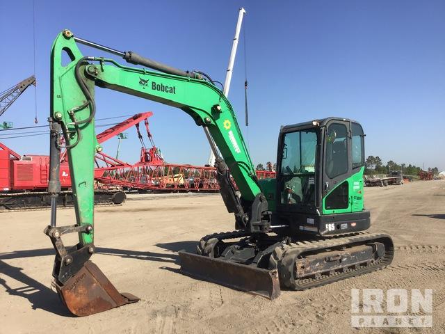 2014 Bobcat E85M Mini Excavator, Mini Excavator (1 - 4.9 Tons)