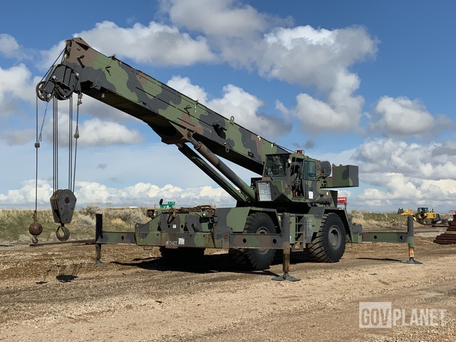 Grove RT875CC Rough Terrain Crane, Rough Terrain Crane