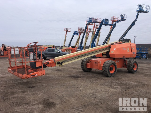 2004 JLG 600S 4WD Diesel Telescopic Boom Lift - Factory Reconditioned 2013, Boom Lift