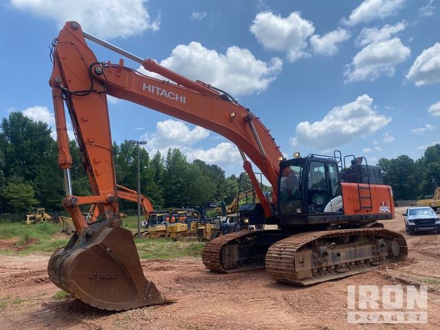 2017 (unverified) Hitachi Zaxis ZX470LC-6 Track Excavator, Hydraulic Excavator