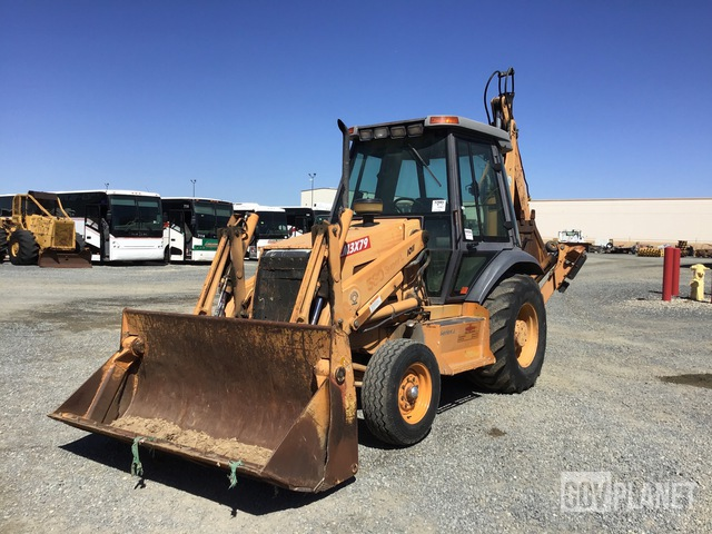 Case 580 Super L Backhoe Loader, Loader Backhoe