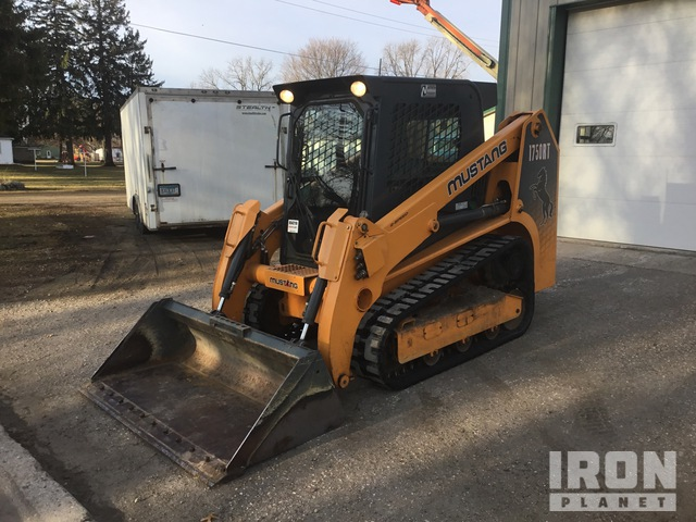 2013 Mustang 1750RT Compact Track Loader, Compact Track Loader