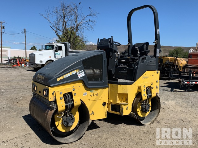 2017 Bomag BW120AD Vibratory Double Drum Roller, Roller