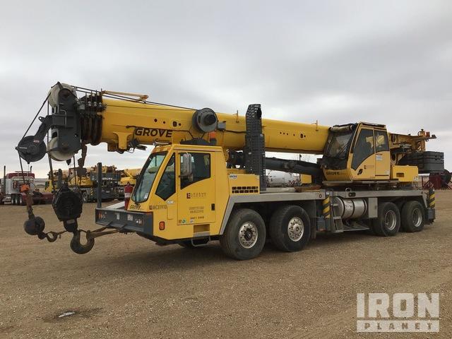 2011 Grove TMS9000E 110 ton 8x4 Hydraulic Truck Crane, Hydraulic Truck Crane