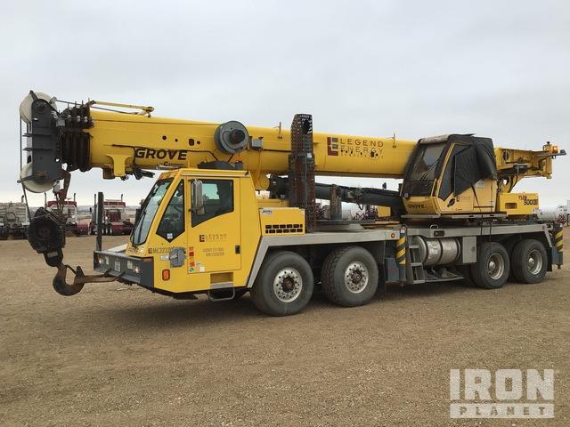 2012 Grove TMS9000E 110 ton 8x4 Hydraulic Truck Crane, Hydraulic Truck Crane