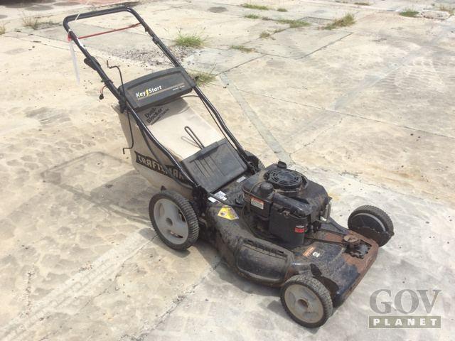 Surplus Craftsman 917 376742 Mower in Pearl Harbor, Hawaii, United