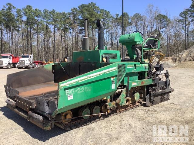 2008 Cat BG-225C Track Asphalt Paver, Asphalt Paver