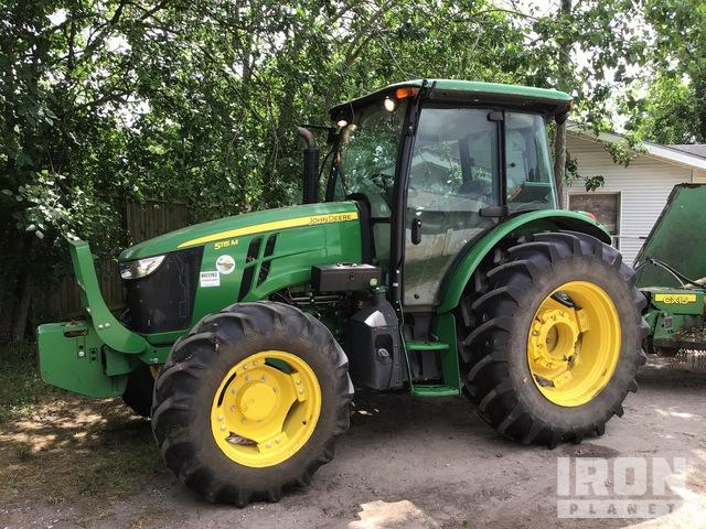 2017 John Deere 5115M 4WD Tractor, MFWD Tractor