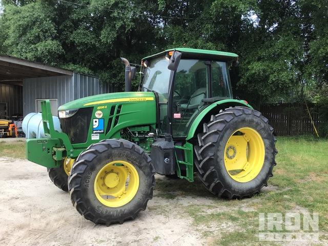 2016 John Deere 6135E 4WD Tractor, MFWD Tractor