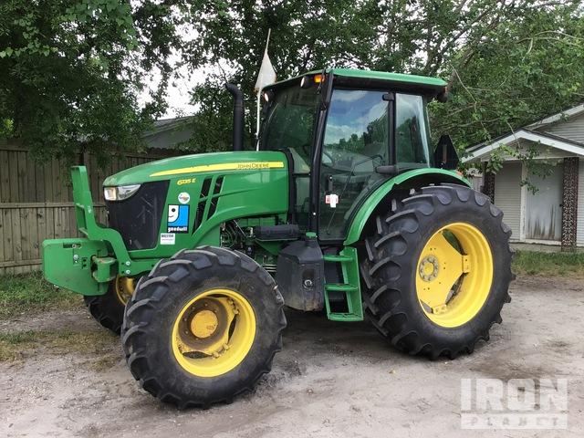 2017 John Deere 6135E 4WD Tractor, MFWD Tractor