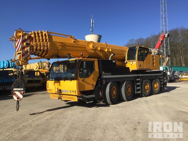 2009 Liebherr LTM1090-4.1 90 ton 8x8x8 All Terrain Crane, All Terrain Crane