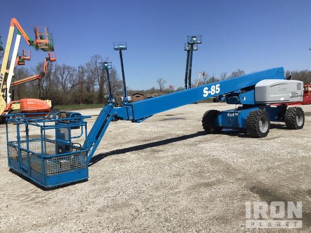 2012 Genie S-85 4WD Diesel Telescopic Boom Lift, Boom Lift