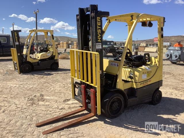 Hyster S40FT Cushion Tire Forklift, Forklift