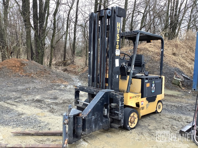 Hyster N30AH Electric Swing Reach Forklift, Electric Forklift
