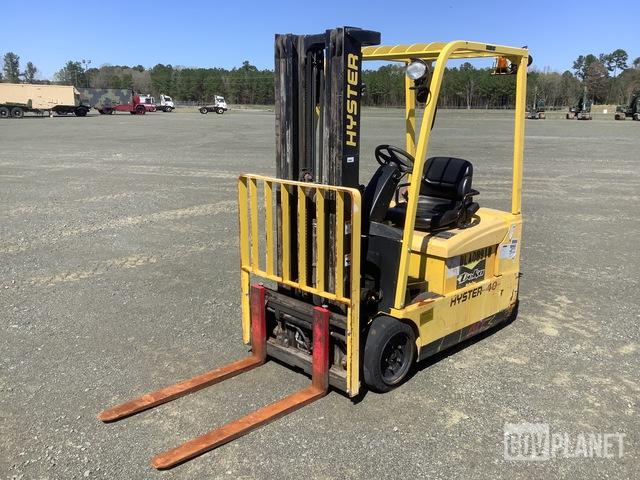 Hyster J40ZT Electric Forklift, Electric Forklift