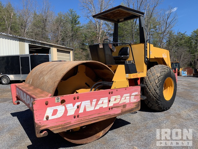 1994 Dynapac CA251D Vibratory Single Drum Compactor, Vibratory Padfoot Compactor