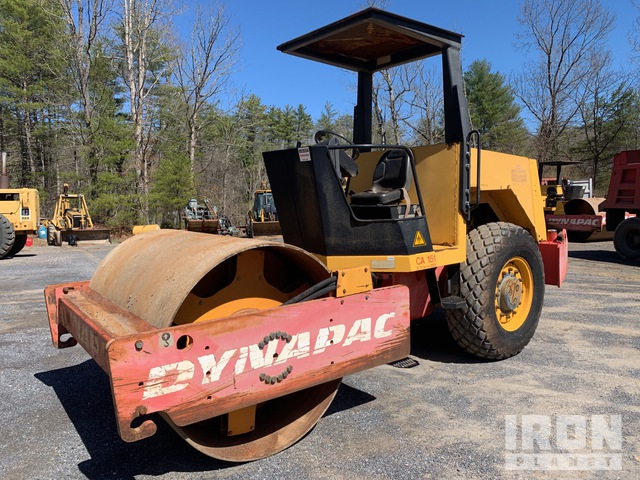 1994 Dynapac CA151D Vibratory Single Drum Compactor, Vibratory Padfoot Compactor