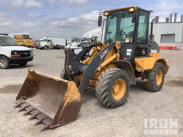 2012 (unverified) John Deere 324J Wheel Loader, Wheel Loader