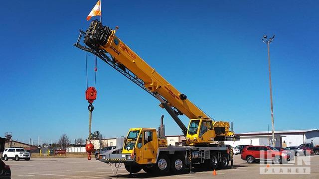 2006 (unverified) Grove TMS880E Hydraulic Truck Crane, Hydraulic Truck Crane