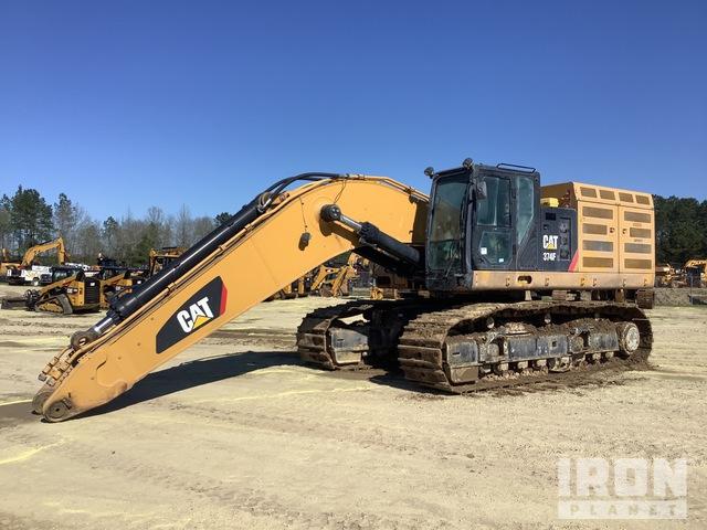 2017 Cat 374F L Track Excavator, Hydraulic Excavator