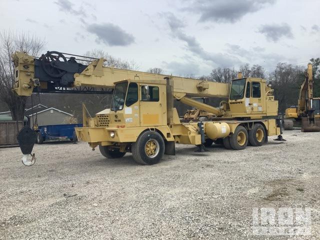 1991 Grove TMS-250C Hydraulic Truck Crane, Hydraulic Truck Crane