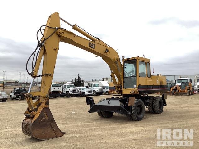 1994 Cat 214BFT 4x4 Wheeled Excavator, Mobile Excavator