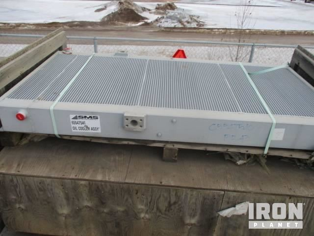 SMS Hydraulic Oil Cooler - Fits Komatsu PC8000 – Unused, Hydraulic Parts