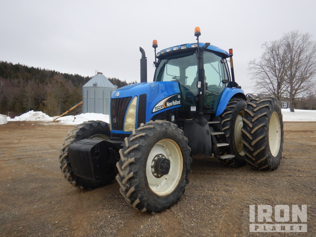 2003 New Holland TG230 4WD Tractor, MFWD Tractor